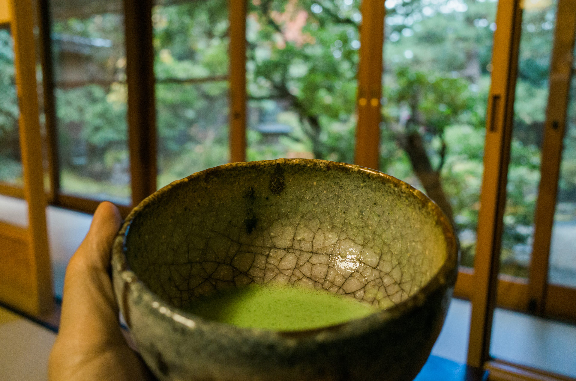 茶寮宝泉的抹茶,2015