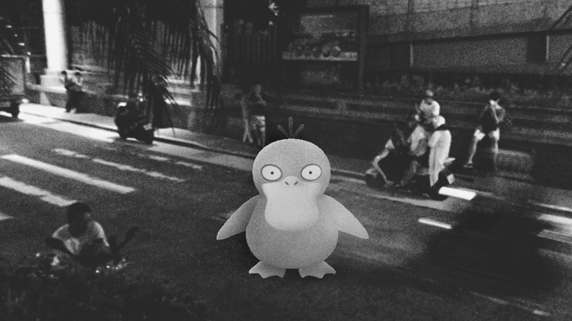 逕行穿越馬路的可達鴨,2016
